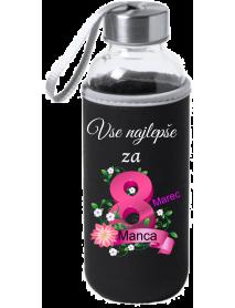 Steklenica vse najlepše roza