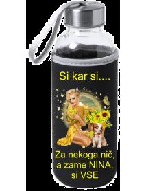 Steklenica dekle