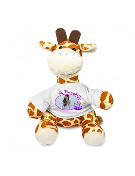 Žirafa rojstni dan zanjo