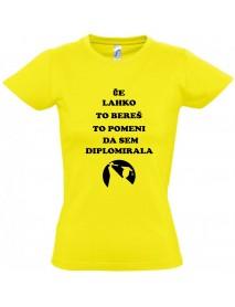 Majica diplomirala
