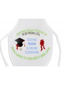 Predpasnik za steklenico diploma vztrajnost