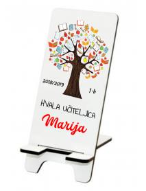 Podstavek  za telefon drevo