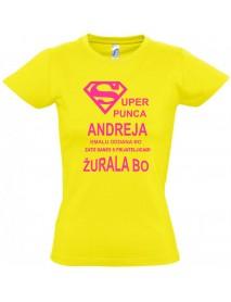 Majica dekliščina super punca