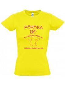 Majica dekliščina poroka bo