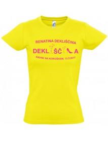 Majica dekliščina