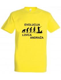 Majica evolucija - lovca