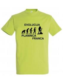 Majica evolucija - planinec