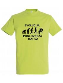 Majica evolucija - poslovnež