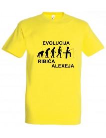 Majica evolucija - ribič