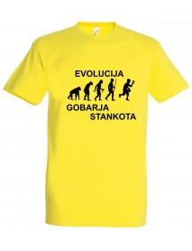 Majica evolucija - gobar