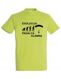 Majica evolucija - padalec