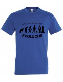 Majica fantovščina - evolucija