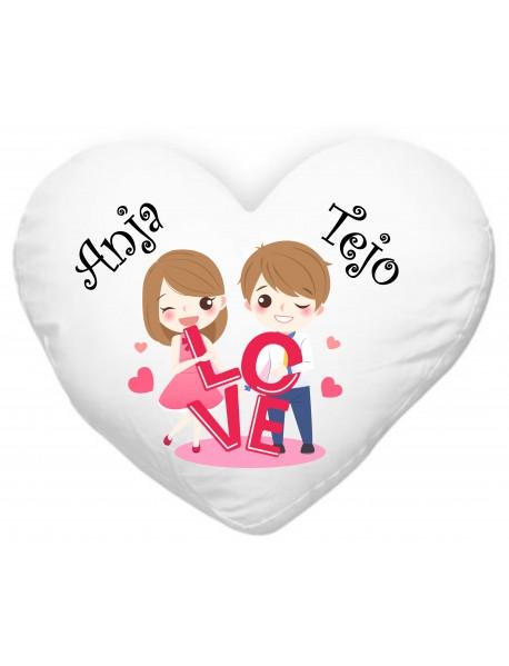 Blazinica srce love