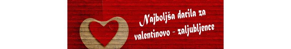 Darila za valentinovo - zaljubljence