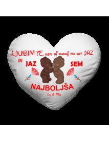 Blazinica srce valentinovo najboljsa