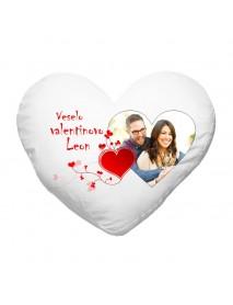 Blazinica srce valentinovo