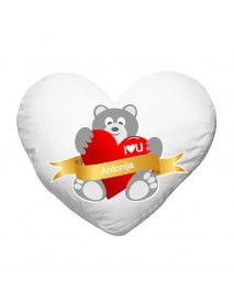 Blazinica srce medved