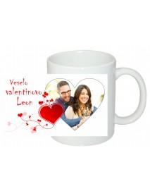 Skodelica srček valentinovo